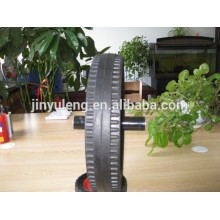 "15""x3 solid rubber wheels for heavy duty trailer / industry machine"