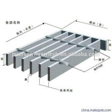 Drainage Channel Galvanized Steel Grating by Puersen
