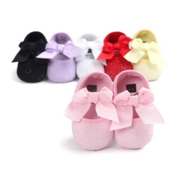 Младенческой Мягкой Подошвой Малыш Prewalker Первый Уокер Детская Обувь