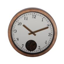 12 Ince Retro Rustic Gear Reloj de pared