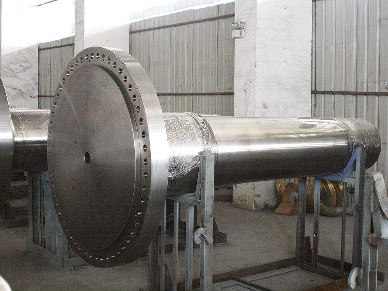Main Shaft for Level Wind Turbine