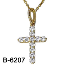 Fashion Jewelry 925 Sterling Silver Cross Pendant