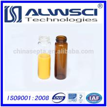 Freie Probe 20ml Glasfläschchen mit PP Kappe pharmazeutisches Glas Fläschchen Speicher Durchstechflasche