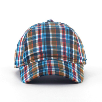 Fashion Check Pattern Baseball Caps