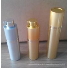 Bouteille cosmétique sans air, bouteille cosmétique, bouteille de crème cosmétique, bouteille en plastique