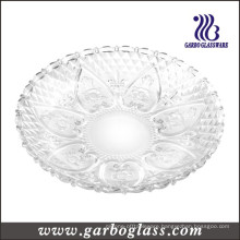 13′′glass Plate & Glass Dinner Plate (GB2303LH)