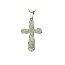 pingente de cruz de jerusalém, prata esterlina pequeno pingente de cruz atacado