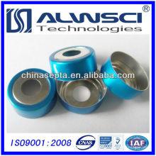 20mm Bi-metallic Aluminum Crimp Caps e septa para CTC
