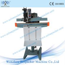 Aluminium Body Pedal Paper Bag Sealing Machine with Coder