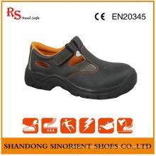 Chaussures de sécurité en sandales en acier inoxydable, Chaussures de sécurité d'été Malaisie RS027