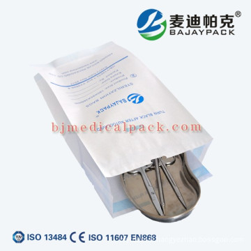 Environmental friendly sterilization gusset type pouch