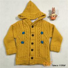 लड़की के लिए सर्दियों डबल परत गर्म स्वेटर