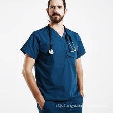 Work Wear Hospital Doctor Nurse Woman&Man Short Sleeve Medical Uniform