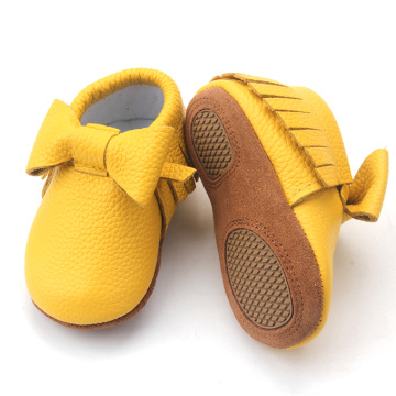Zapatos de cuero a granel Oferta Infant Toddler Shoes baby