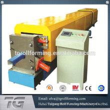 Panel de acero de alta calidad caño de la lluvia rodillo redondo rodillo que forma la máquina