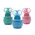 4Pcs Manufacturing Promotional gifts Infant Care OEM Baby Nail Clipper Set with Scissors