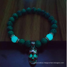 Wholesale Mixed Jewelry Women Men Outdoor Luxury Decorative Bracelet with Skull Pendant