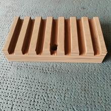 Laminierte verdichtete Holzblock-Dämmplatte