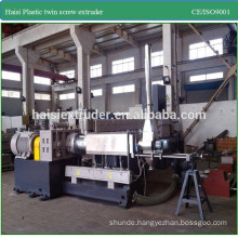 CE high capacity black masterbatch plastic pelletizing machine
