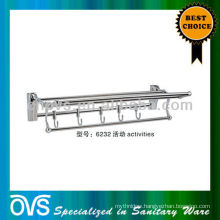 towel shelf space saving towel rack 6232