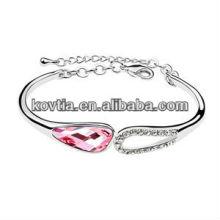 2014 fashion charm crystal friendship bracelet