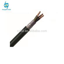 Câble de commande électro blindé de bande en acier gainé de PVC de 1.5mm2 Kvv22 inséré par PVC