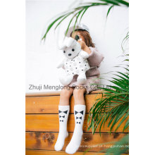 Estilo modelo Beatiful Girl Cotton Stocking