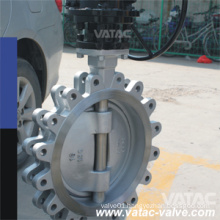 Wafer Lug Type High Performance Pneumatic Butterfly Valve