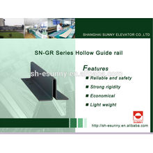 2014 latest hot product High quality, elevator guide rail,aluminium guide rail, conveyor guide rails, SN-GR