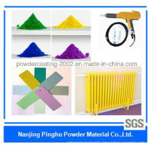 Light Yellow Decorated Thermosetting Powder Coating