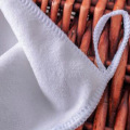 White Microfiber Square Face  Towel