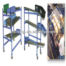 Dispenser rack,Galvanized Adjustable gear carton flow rack