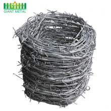 Sampel Gratis DoubleTwisted PVC Coated Barbed Wire