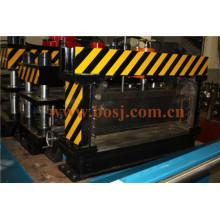 Direkte Fabrik Schlitz Hochwertige Edelstahl SUS 316 Kabelrinne mit Flansch Roll Forming Making Machine Thailand
