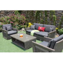 Poly rattan PE sofa set for outdoor garden furniture from Vietnam