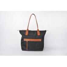 Mode langlebig schwarz Nylon Handtaschen Frauen Casual Bag