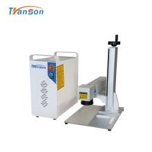 Marcador de fibra a laser para placa de identificação