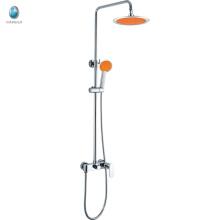 KDS-03 empresa comercial de plástico borracha de laranja chuveiro de mão marca d'água misturadores de banheiro chuveiro