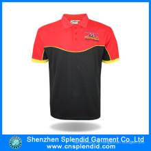 Bekleidung Hersteller China Herren Farbkombination Sport Polo-Shirt