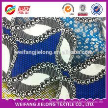 Оптовая Африки на Java печатает воск ткани,100% хлопок африканских текстильными складе много