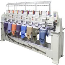 8 Heads 12 Needles maquina bordadora Embroidery Machine china price