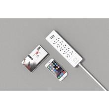 ORICO USP-10A3U-US Escritorio todo el pequeño pequeño Surge Protector outlet 10 * AC + 3 * USB Charger