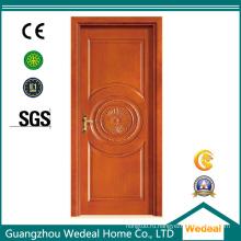 Подгонянная деревянная дверь/древесины с оборудованием в высоком качестве