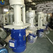 Pompe verticale en PP avec pompe à eau submersible chimique