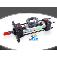 Tie rod hydraulic cylinder of light oil cylinder