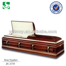 JS-A733 selected Chinese manmade casket outlet