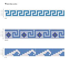 Mosaico de vidrio para azulejos de piscina SPA