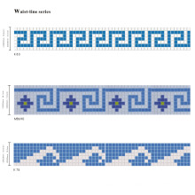 Glass Mosaic for SPA Swimming Pool Tile