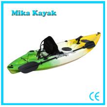 Plastic Canoe Single Kayak Boat Barato Pesca para la venta