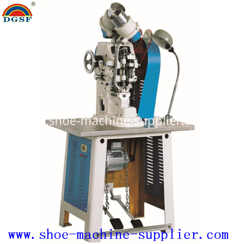 Double Side Eyeletting Machine
